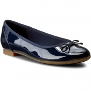 Балеринки CLARKS - Couture Bloom 261185194 Navy Patent