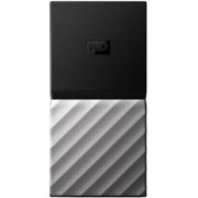WD My Passport 1 TB Wired External Solid State Drive(Silver, Black)