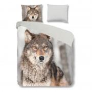 Good Morning Wolf dekbedovertrek