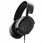 Геймърски слушалки steelseries, arctis 3 black 2019 edition, микрофон, черно, steel-head-61503