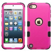 Funda Protector Triple Layer Apple Ipod Touch 5G / 6G Rosa - 2 / Negro
