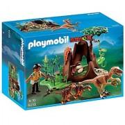 PLAYMOBIL Deinonychus and Velociraptors