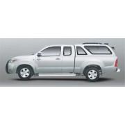 HARD TOP CARRYBOY TOYOTA VIGO 2005 XTRA CAB AVEC VITRES LATERALES - accesso...