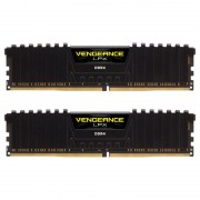 Memória RAM Corsair 16GB Vengeance LPX (2x 8GB) DDR4 3000MHz PC4-24000 CL15 Black - CMK16GX4M2B3000C15