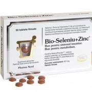 Bio-Seleniu +Zinc 60cpr Pharma Nord