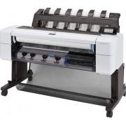 "HP DesignJet T1600dr PostScript - 36"" groot formaat printer - kleur - inktjet - Rol (91,4 cm x 91,4 m), 914 x 1219 mm - 2400 x 1200 dpi - tot 0.32 min/pagina (mono) / tot 0.32 min/pagina (kleur) -capaciteit: 2 rollen"