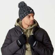 Gebreide handschoenen (zwart) - S-M - Zwart