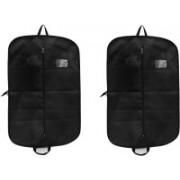 PRAHAN INTERNATIONAL Men's Coat Blazar Cover Bag Suit cover Pack of2 PIS-C2B039(Black)