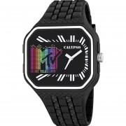 Reloj KTV5628/3 Negro Calypso Hombre MTV