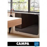 CAMPA Radiateur électrique Campa - CAMPAVER Ultime 3.0 Horizontal Noir Astrakan 1250W - CMUD13HSEPB