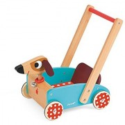 Janod Crazy Doggy - Walking Cart Toy Mixed