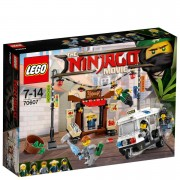 Lego The LEGO Ninjago Movie: Persecución en ciudad de NINJAGO® (70607)