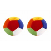 Marchie's Soft Toy Ball/ Stuffed/ Rattle Balls/ Shake Shake Balls/ Footballs/ Soft Balls/ Plush balls (Small size, set of 2)