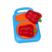 ELECTROPRIME Toy Safe Preschool Kitchens Pretend Play Toys Lovely Colorful Set Kid Kitchen