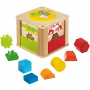 HABA Shape Sorter Zoo Keeper 301701
