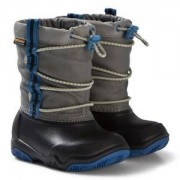 Crocs Swiftwater Waterproof Boot Black/Blue Jean Gummistövlar
