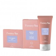 TummyTox Body Shaper pack - figura perfeita - programa de perda de peso. 150 ml de gel + 30 cápsulas de Booty Tone + 60 cápsulas de Flat Tummy Caps para 30 dias