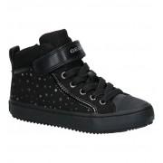 Geox Zwarte Hoge Sneakers