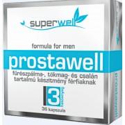 Fűrészpálma, tökmag és csalán tartalmú készítmény férfiaknak - Prostawell