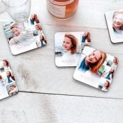 smartphoto Glasunderlägg med kork Hjärtformade