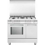 GLEM UR96GX3 LINEA UNICA CON PORTABOMBOLA cucina bianca 90X60, forno multifunzione gas ventilato