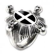 gyűrű Saint Ankou's Shield ALCHEMY GOTHIC - R159
