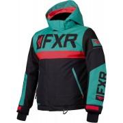 FXR Helium Kids Jacket Black Green S