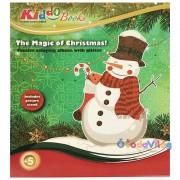 Karácsonyi színező - Hóember Kiddo Books