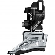 Shimano SLX M7025 Double 11-Speed Front Derailleur - High Clamp - Down Swing - Dual Pull