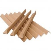 Coltar din Carton Presat 2 m, Dimensiune 40x40x4 mm, 75 Buc/Bax - Profil de Protectie pentru Ambalat Paleti si Colete