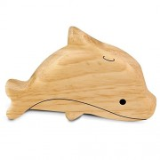 Cerasus Eco-Friendly Handmade Wooden Shaker / Rattle / Toys for Toddlers / Kids / Musical Toy (Dolphin)