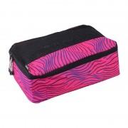 Zoomlite Smart Packing Cube Medium Stripe Bag Pink