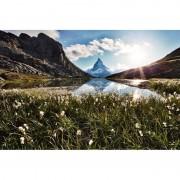 """FIRST Heating WIST NG """"Matterhorn"""" Infrarot-Bildheizung 90 x 60 / 800 W (WIST Motive: Matterhorn 4, Rahmen: Mit Rahmen)"""