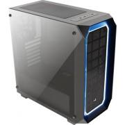 Carcasa Carcasa Aerocool ATX P7 C0 BLACK Tempered Glass, USB 3.0, fara sursa