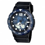 reloj digital analogico estandar casio AEQ-100W-2A - azul (sin caja)