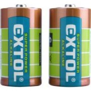 Extol elem készlet 1,5 V, LR14, 2 db (42014)