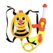 FFtoy Water Gun Backpack bee honey Super Soaker For Kids Toys - Summer Fun Outdoor Water Toy For Children Beach Pool Backyard Water Blaster Cartoon animal