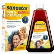 DR. KADE Pharmazeutische Fabrik GmbH Sanostol® Multi-Vitamin Saft ohne Zuckerzusatz