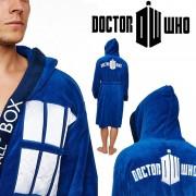 Doctor Who - TARDIS Fleece Robe with Hood