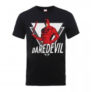 Marvel Comics Daredevil Heren T-shirt - Zwart - L - Zwart