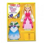 Детски креативен комплект Принцеса Елиз с магнитни дрехи Melissa and Doug 13553, 000772135535