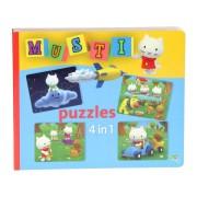 Musti 4 in 1 Puzzle Book