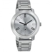Fastrack Casual Analog Silver Dial Mens Watch - 3120SM01