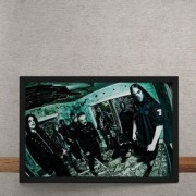 Quadro Decorativo Slipknot All Hope is Gone 2 25x35
