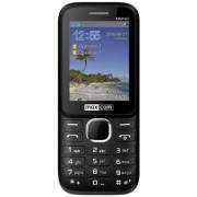 "Telefon Mobil MaxCom Classic MM143, QVGA 2.4"", Dual Sim, 3G (Negru) + Cartela SIM Orange PrePay, 6 euro credit, 6 GB internet 4G, 2,000 minute nationale si internationale fix sau SMS nationale din care 300 minute/SMS internationale mobil UE"