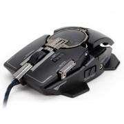 Miš Zalman ZM-GM4, Laserski, USB, crna, 12mj