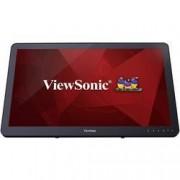 Viewsonic Dotykový monitor 61 cm (24 palec) Viewsonic TD2430 N/A 16:9 25 ms USB 3.0, VGA, HDMI™, DisplayPort MVA LED
