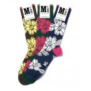 MrD London [3 Packs] Assorted Batik Socks B19-007