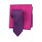 Ted Baker London Aztec Box Tie Pocket Square Set PINK