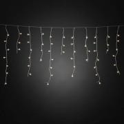 Konstsmide LED-Eisregen Lichtervorhang, 400 warmweiße Dioden